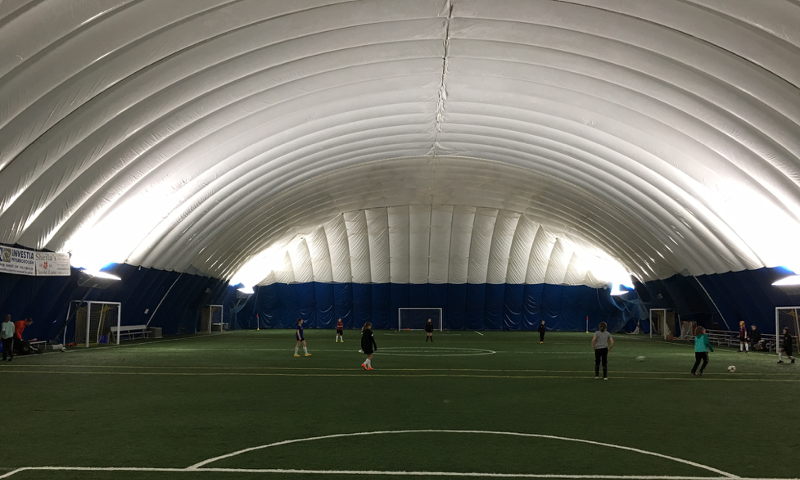 Spiplex Indoor Soccer Field